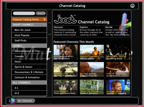 Channel Guide Image