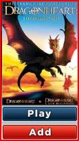 Dragonheart DVD cover
